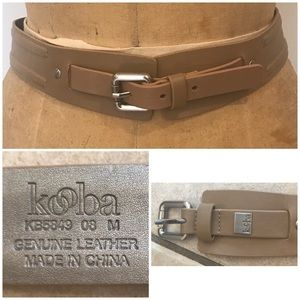 KOOBA Genuine Leather Belt